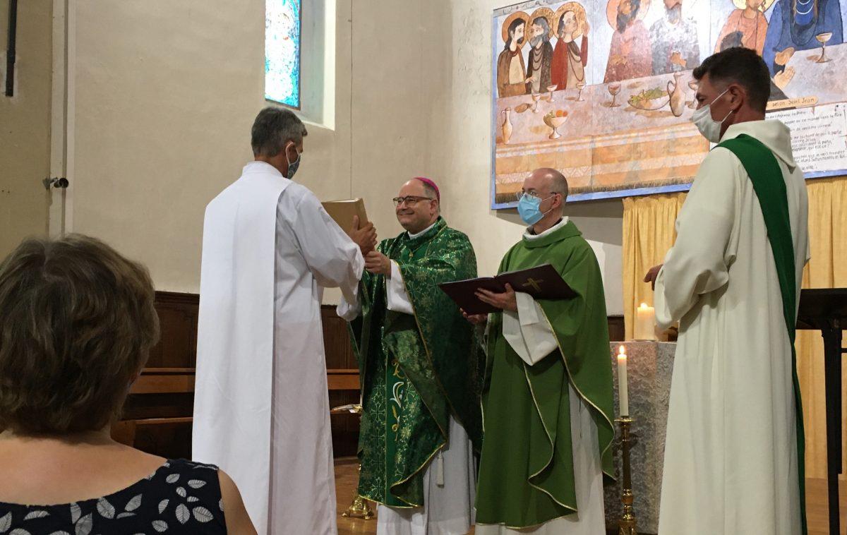 Institutions aux ministères du Lectorat et de l'Acolytat en vue du diaconat permanent, par Monseigneur Jean-Philippe Nault, de Cyrille Prache