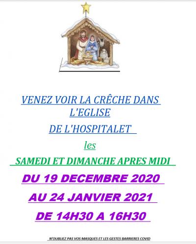 Crèche de l'Hospitalet – 2020