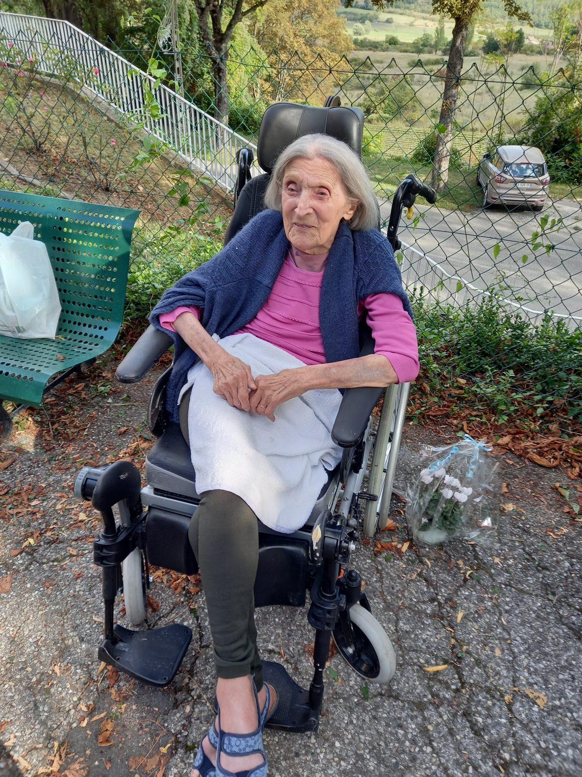 110 ans pour Hermine Saubion !