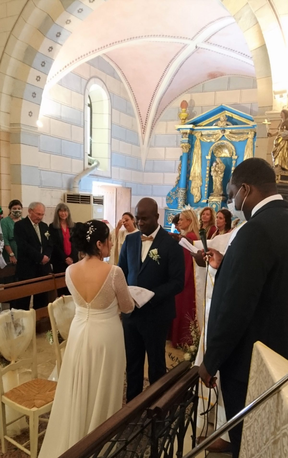 Mariage à Cruis